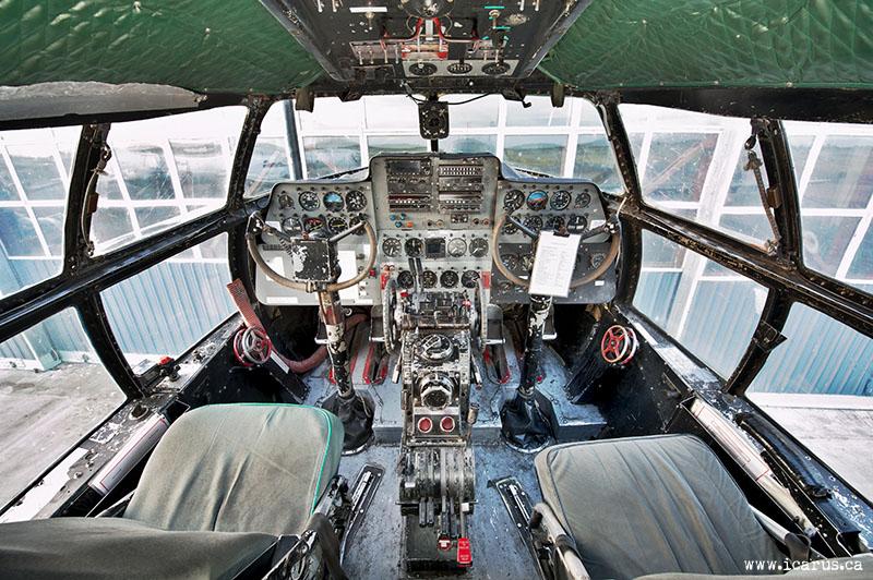 C-46 Cockpit